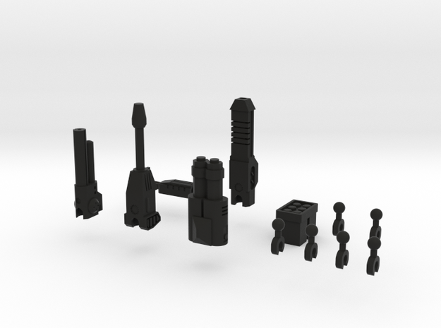 Sunlink - 3mm Weapons Pack #2 3d printed