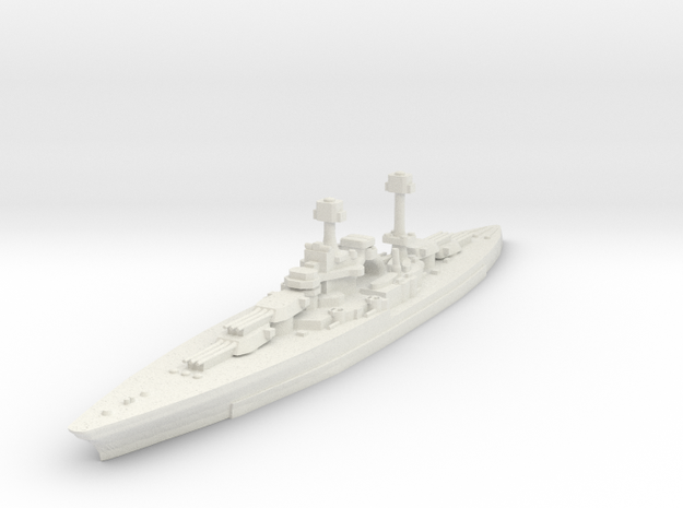 South Dakota Class (BB-49) 1:3000 x1 3d printed