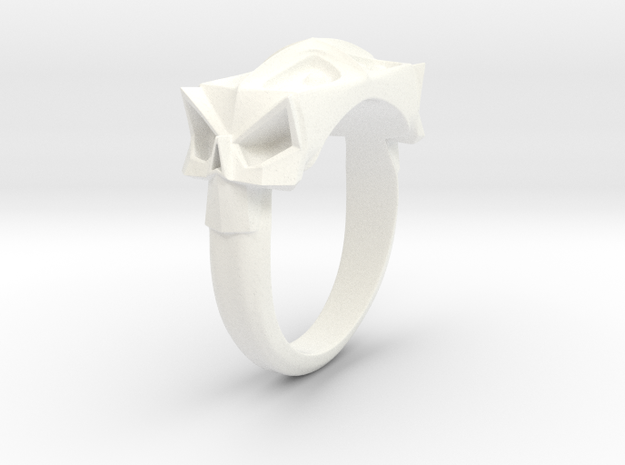 Facet Skull Gth 3d printed