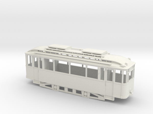 Tram Leipzig Typ 22c Pullmanwagen (1:87) H0 3d printed