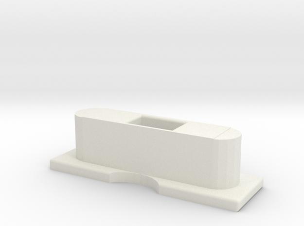 Elevation Lightning Dock Edit in White Natural Versatile Plastic