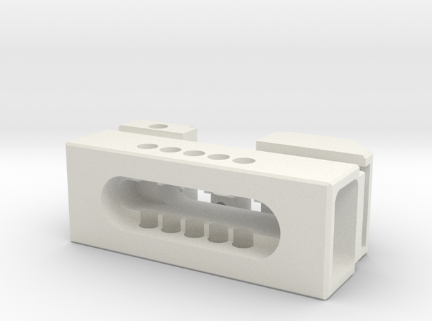 Small vice set in White Strong & Flexible