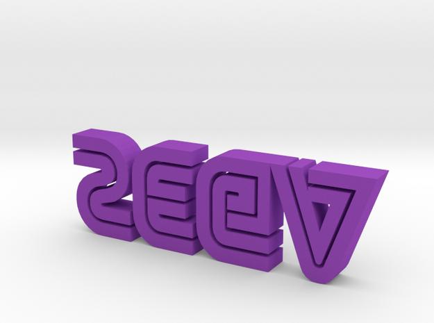 sega Logo 3d printed