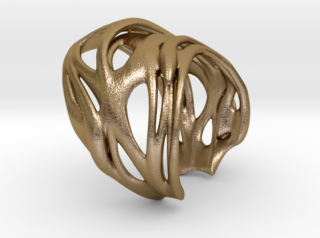 Tafone 111 Ring - Stainless Steel 3d printed