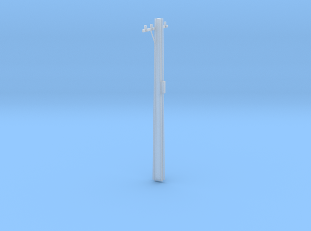 HO Scale 1:87 9m High Stobie Pole 3d printed