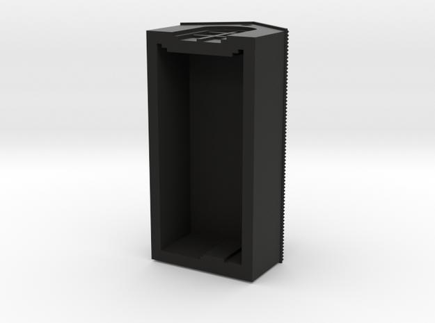 Barn (Black Detail) 3d printed