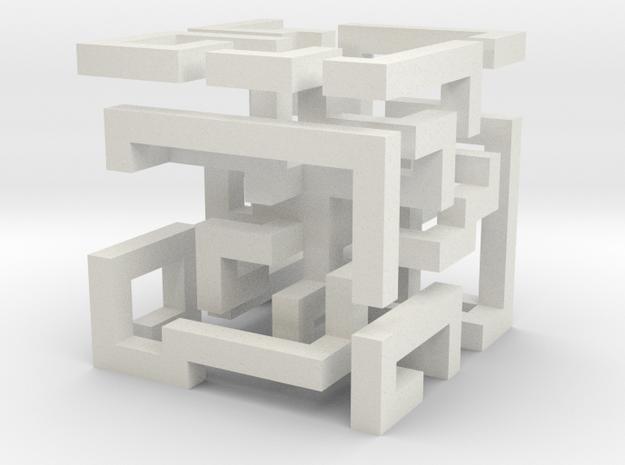 cube_03 in White Natural Versatile Plastic