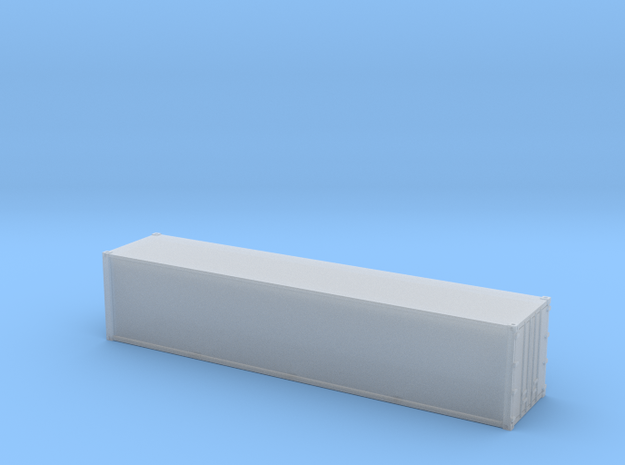 40ft Container Smooth, (NZ120 / TT, 1:120) 3d printed