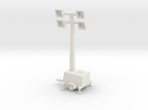oo scale site lights in White Natural Versatile Plastic