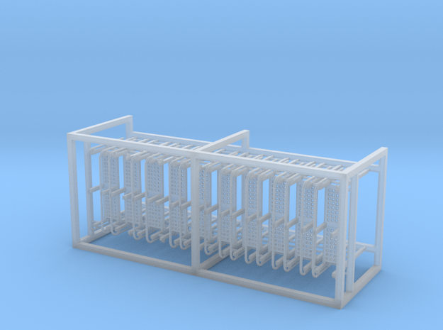 CB-3 Ladders x10, New Zealand, (NZ120 / TT, 1:120) in Smooth Fine Detail Plastic