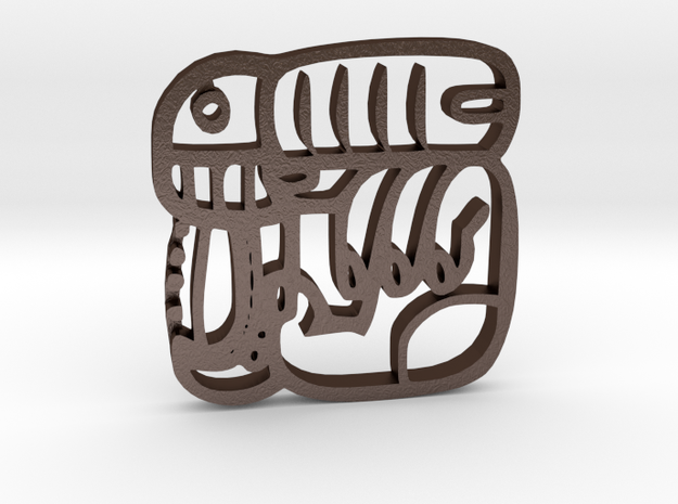 Your name Mayan keychain 3d printed