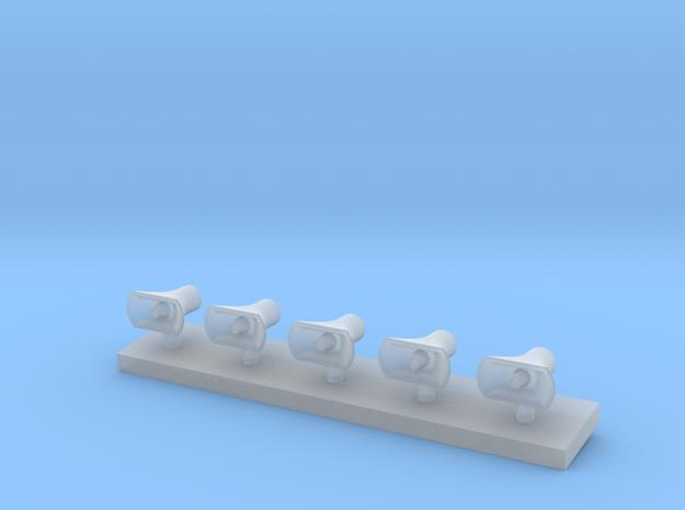 Druckkammerlautsprecher klein 5Stck   in Frosted Ultra Detail