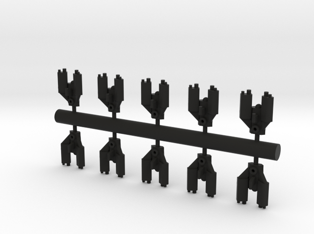 10 Reptilian bombers 3d printed