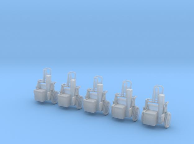 Sicherheitshaspel  5x  in Smooth Fine Detail Plastic