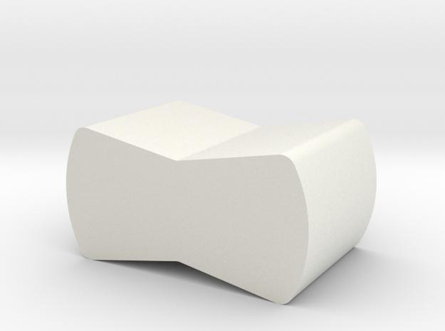 Neuralynx tetrode spinner clip holder in White Natural Versatile Plastic