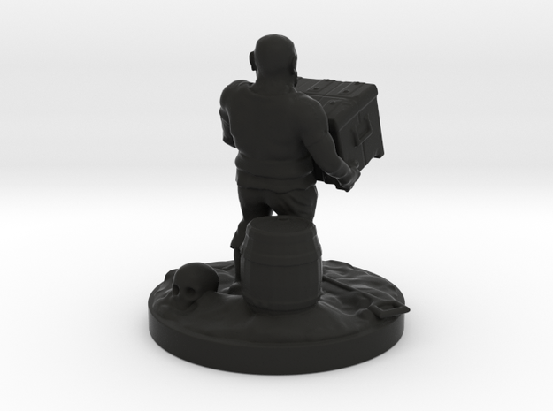 pirate socle 10cm 3d printed