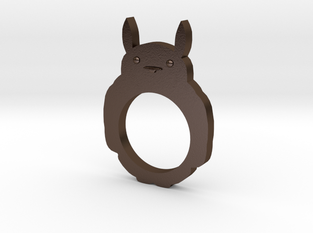 Totoro 2D Ring - Size 8