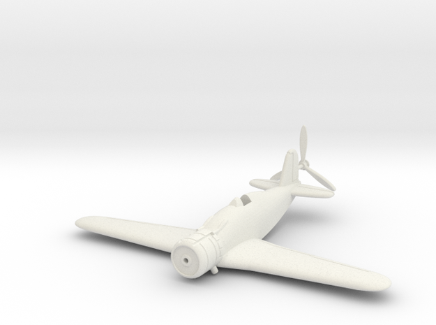 1/144 Fiat G.50 (wheels up) 3d printed