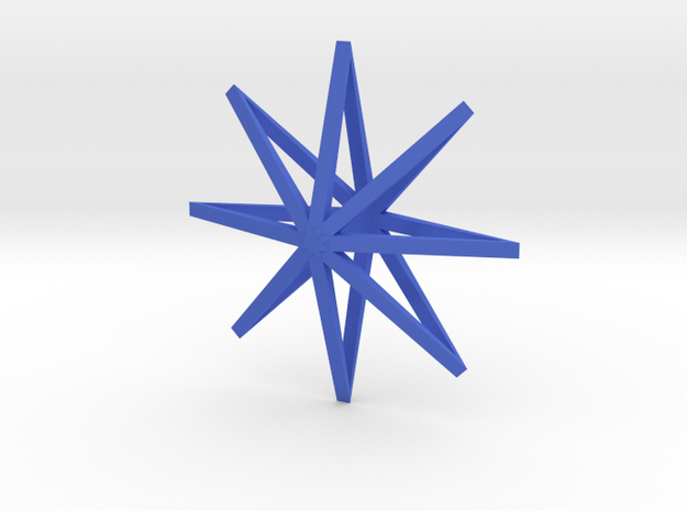 star2 ornament by Jorge Avila 3d printed