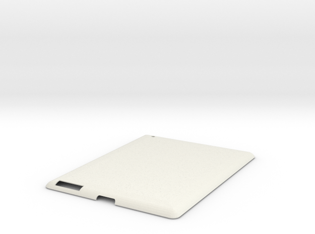 iPad 2 Case in White Natural Versatile Plastic