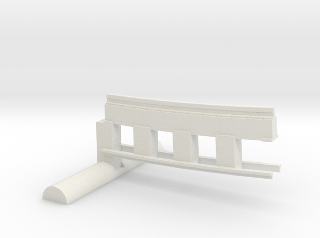 Bardford & Foster Brook Up Sect in White Natural Versatile Plastic