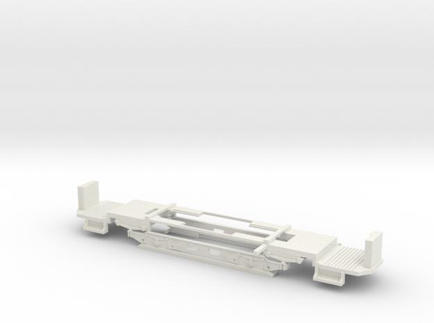 Fahrgestell Wien T Zweiachser Holzverglast in White Strong & Flexible