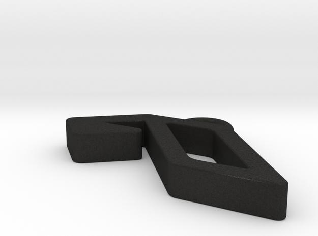 Anjunabeats Earring / Pendant 3d printed