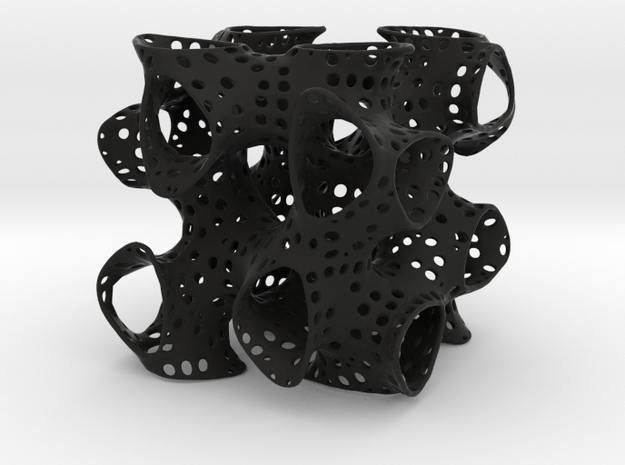 Split P minimal surface 3d printed