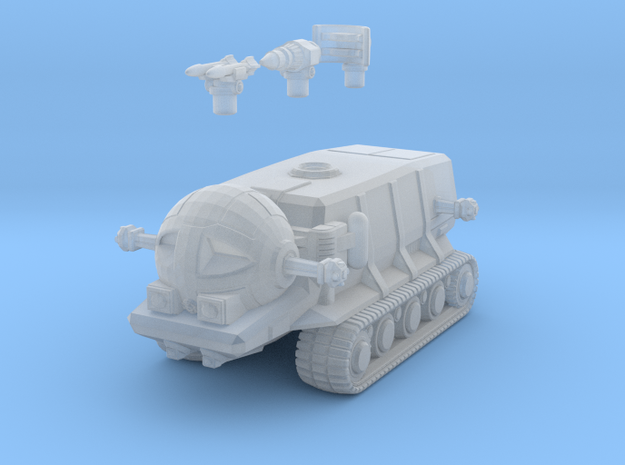SHADO Moon Tank in Smooth Fine Detail Plastic