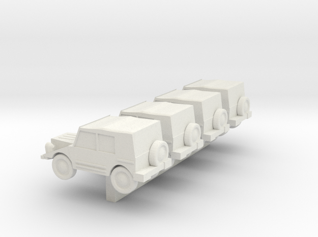 Z Scale DKW Munga 3d printed