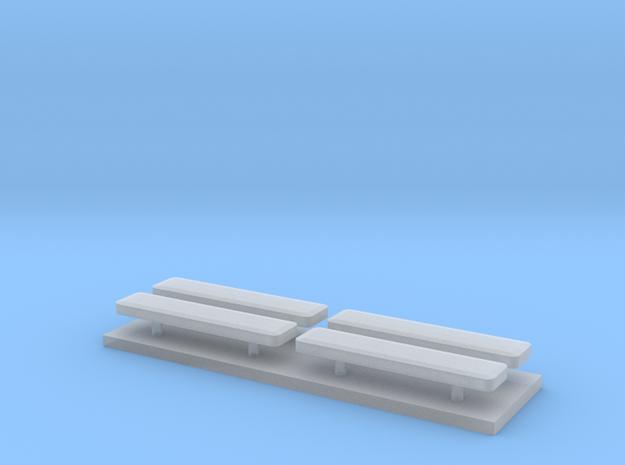 Whelen lightbar 16,1 mm 4 stuks in Smooth Fine Detail Plastic