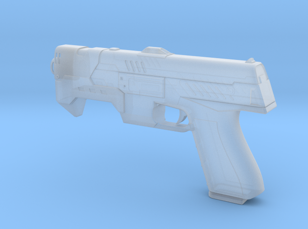 The Lawgiver final 3d printed