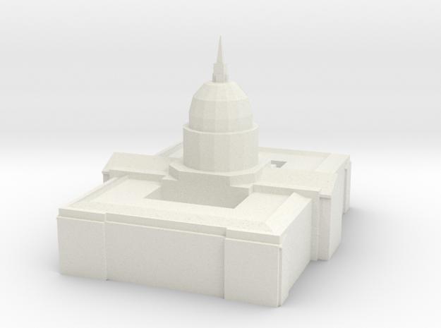 cityhall in White Natural Versatile Plastic