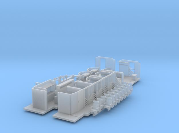 Inneneinrichtung Interregio Bistro TT 1:120 in Smooth Fine Detail Plastic