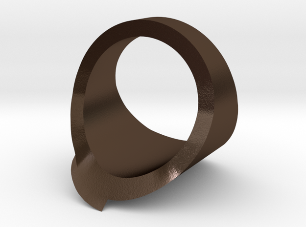 Geometric Fissure Ring ~ Size 12 3d printed