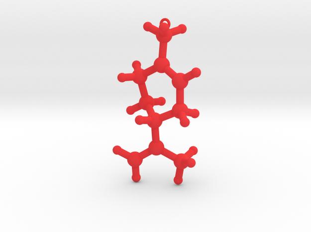 L-Limonene Christmas Tree Decoration Ornament Smal in Red Processed Versatile Plastic