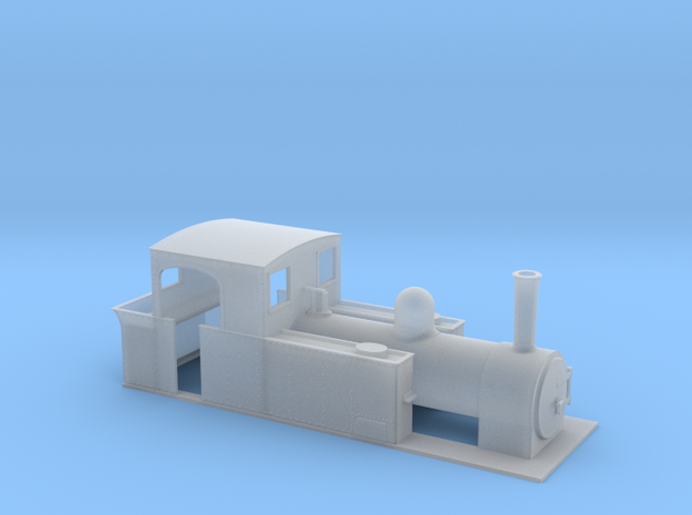 5.5mm scale freelance tank loco 3d printed
