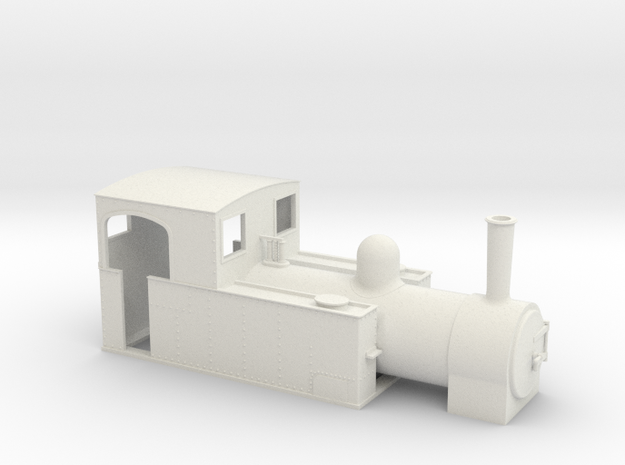 5.5mm scale W&L tank loco  in White Strong & Flexible