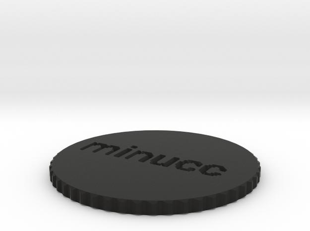 by kelecrea, engraved: minucc 3d printed