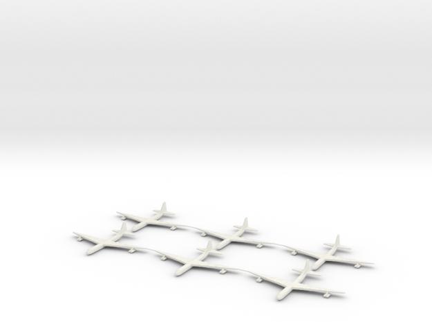 1/700 Scale Convair B-36 Bomber 3d printed