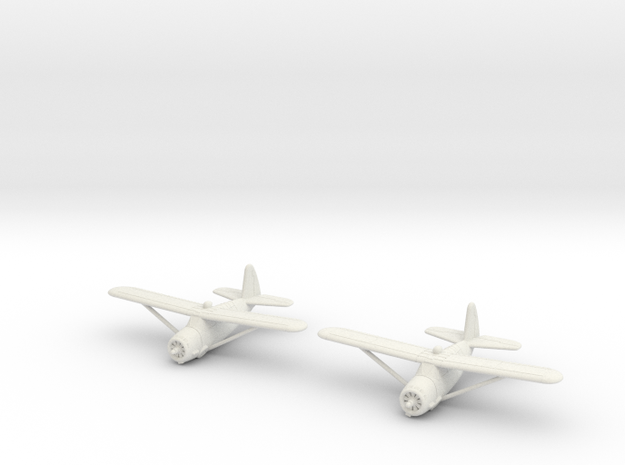 1/200 Curtiss O-52 Owl (x2) in White Strong & Flexible