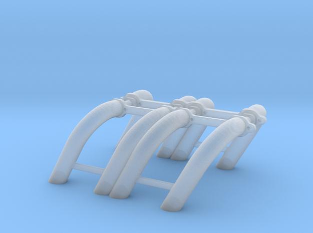 1/12 SBC Zoomie Headers 3d printed