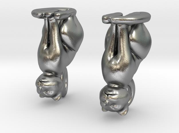 Cat Earrings 3d printed