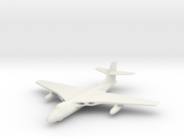 1/285 (6mm) Scale Valiant Bomber 3d printed