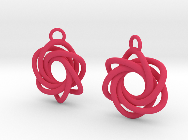 Flourish - Earrings 3d printed