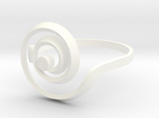 Inspir-al Me Do - Ring - size54 - diam17,2mm 3d printed