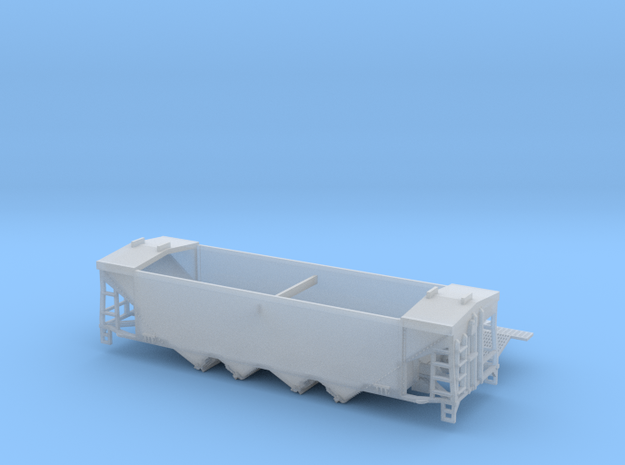 TT Scale U10 Original Style Roof with Roofwalk  in Smooth Fine Detail Plastic