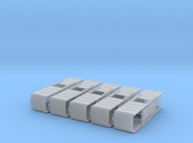 Z Scale B&O boxcar x 5 3d printed