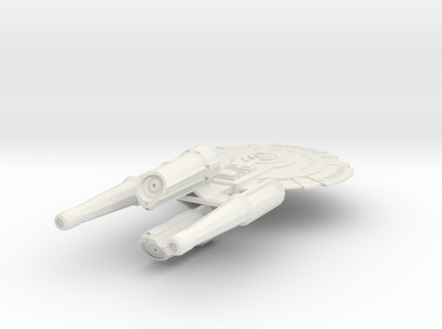 USS Essen in White Strong & Flexible