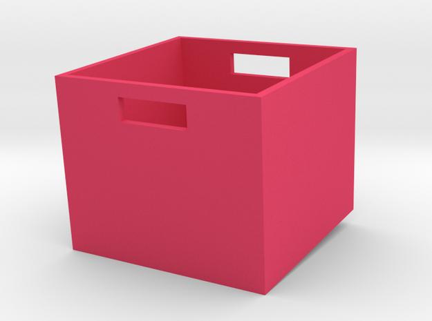 Office: Storage Bin 1:12 scale 3d printed